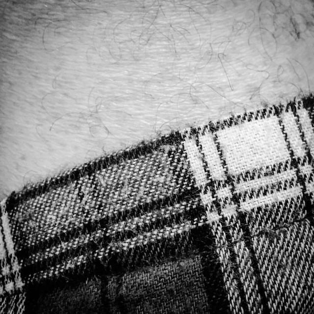 Tartan. Skin.   #artphotography #art #fineartphotography #fineart #bw #bandw #blackandwhite #blacknwhite #blackandwhitephotography #highcontrast #iphone #iphoneography #iphone6 #mono #monochrome #monochromatic #monoart #monotone #shade #shadows #psexpress