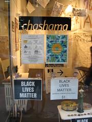 black lives matter art show @ chashama