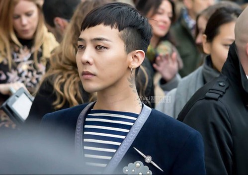 G-Dragon Chanel Haute Coutoure at Grand Palais Paris 2016-01-26 32