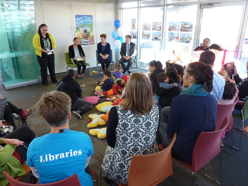 Ready for reading launch at Aranui Library