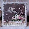 Flower Basket card