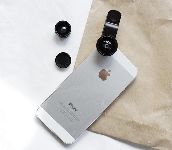universal cell phone camera lens kit