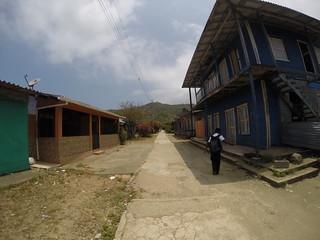 Puerto Obaldia near the Panama/Colombia border