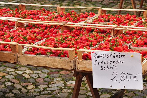 Bad Säckingen Fridolin Fridolinsmünster Markt Samstagsmarkt Foto Brigitte Stolle
