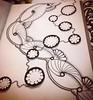 Work in progress (or maybe finished?) #zentangle #art #arttherapy #drawing #blackandwhite #penandink #illustration #ink #creative #freehand #handdrawn #zenart #zenhenna #CZT18 #CZT #certifiedzentangleteacher #pattern