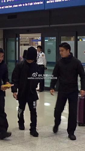 BIGBANG arrival Seoul 2015-10-26 weibo (4)
