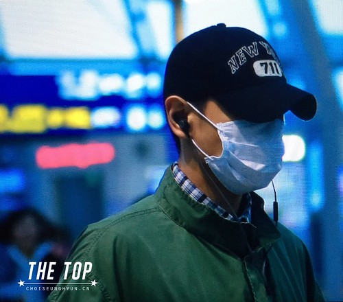 Big Bang - Incheon Airport - 27nov2015 - The TOP - 03
