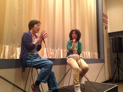 映画『小さき声のカノン―選択する人々』鎌仲ひとみ監督と高遠菜穂子さん