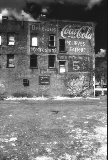 Coca-Cola ghost sign, Schenectady, N.Y.