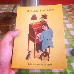 #Semillas es el nuevo libro del capo de @decur vayan a la #FeriaDelLibro este finde que de paso se los firma!!!