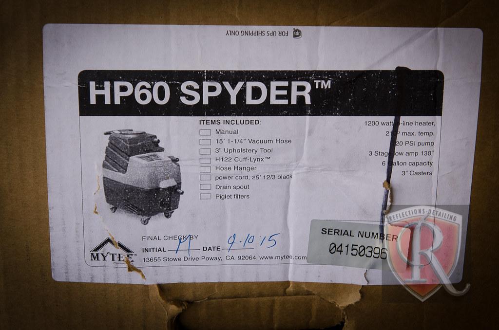 Mytee HP 60 Spyder