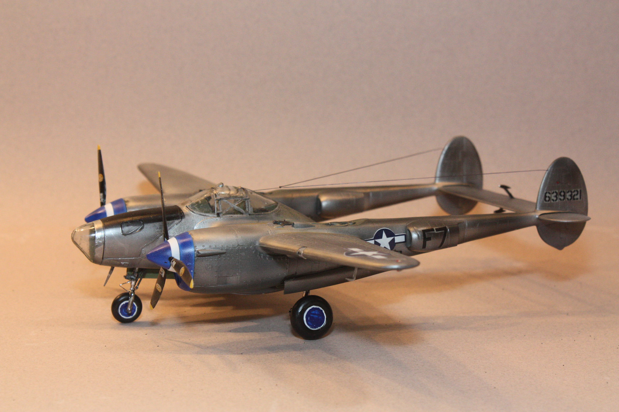 Monogram P-38L Lightning