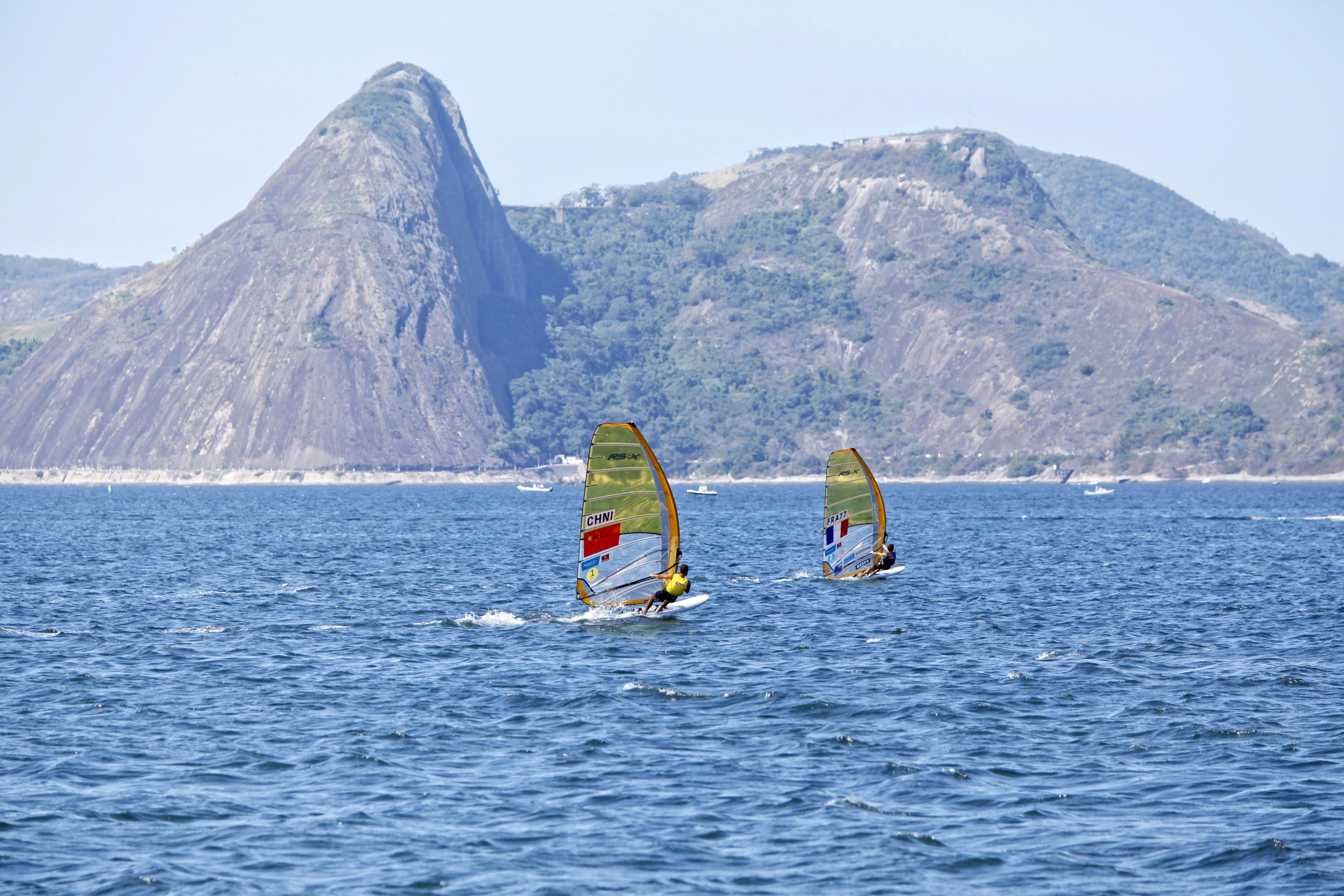 Test-Event Rio 2015 - Pierre Le Coq_Copyright C. Launay-FFVoile