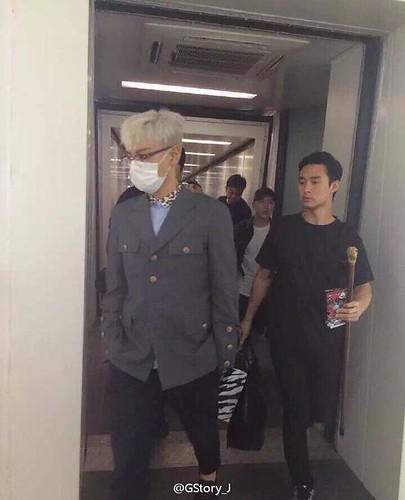 BIGBANG lArrival Shenzhen from Seoul 2015-08-07 047