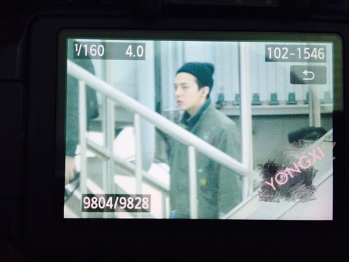 Big Bang - Fuzhou Airport - 29mar2015 - G-Dragon - 啾啾_yong_xi - 02