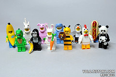 71013 : LEGO Minifigures Series 16