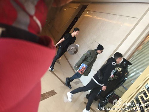 Big Bang - Fuzhou Airport - 29mar2015 - Tae Yang - 段志颖best - 03