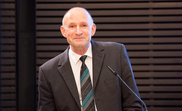 """Für Dr. Norbert Arnold, Leiter des Teams Bildungs- und Wissenschaftspolitik der Konrad-Adenauer-Stiftung, sind """"Privatschule und Bildungsgerechtigkeit miteinander vereinbar"""". (Foto: Juliane Liebers/KAS)"""