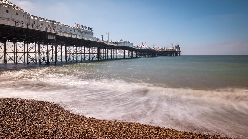 The pier, Brighton, England picture