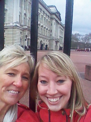 The best way to end an amazing trip is traveling with your mom! We are at the changing of the guards in London. It was a wonderful time.