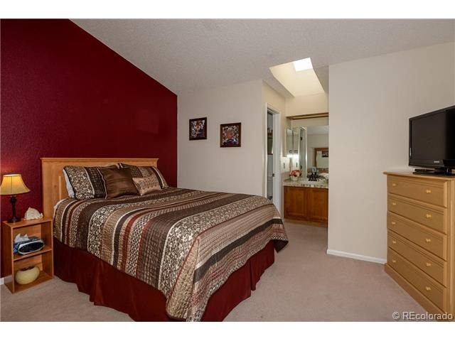 master bed before - Maroon Bedroom Interior