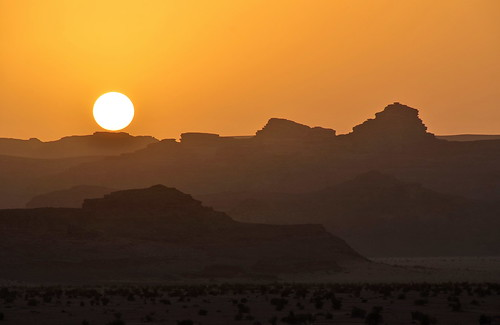 sunset nikon wadirum jordan
