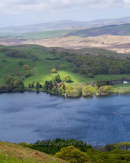 英国 イギリス 湖水地方 風景 自然 コニストン湖