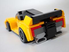 LEGO Mclaren building challenge