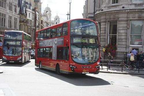 London Central WVL384 LJ60DXS (now with London General)
