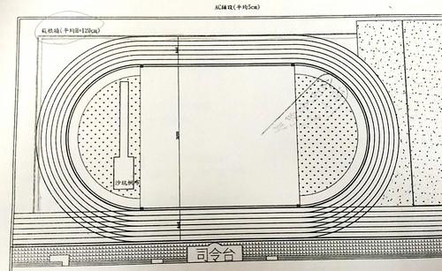 光明國小操場整修設計圖。圖片來源:劉慧玲