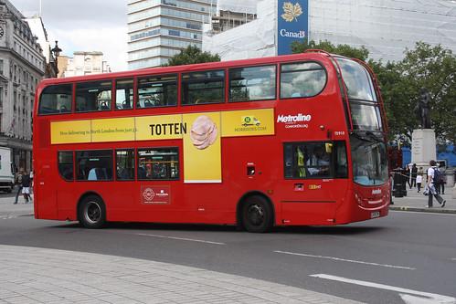 London United TE910 LK58COH