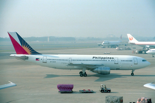 RP-C3004 Airbus A.300B4-203 Philippine Airlines