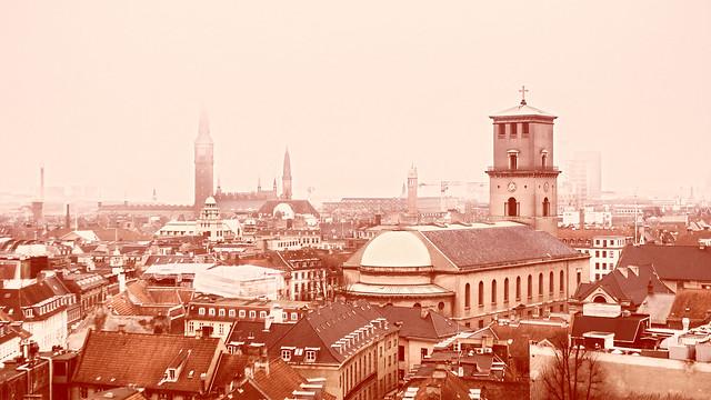Copenhagen Red Roofs #1