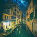 Moody Canals At Night by Trey Ratcliff