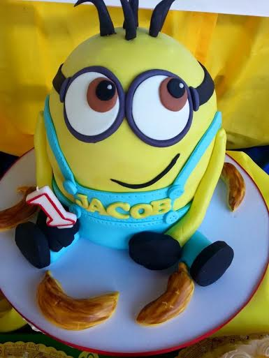 Minion Cake by Katrina Casandra Manuel of The Sweet Pastry