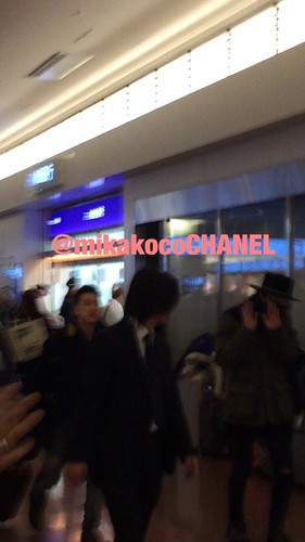 Big Bang - Haneda Airport - 27feb2015 - G-Dragon - mikakocoCHANEL - 02