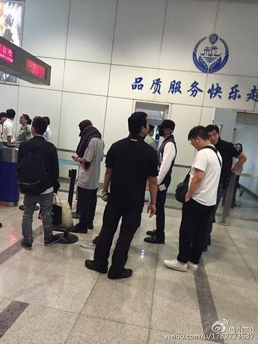 BIGBANG GDTOPDAE arrival Hangzhou 2015-08-25 144