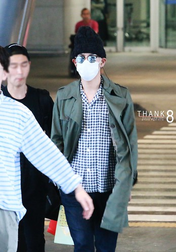 BIGBANG Arrival ICN from Malaysia 2015-07-26 HQs by GDREIRA 006