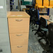 Ex demo 3 drawer beech filing unit €95