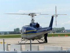 C-FJTG Bell 205 Gimli MB