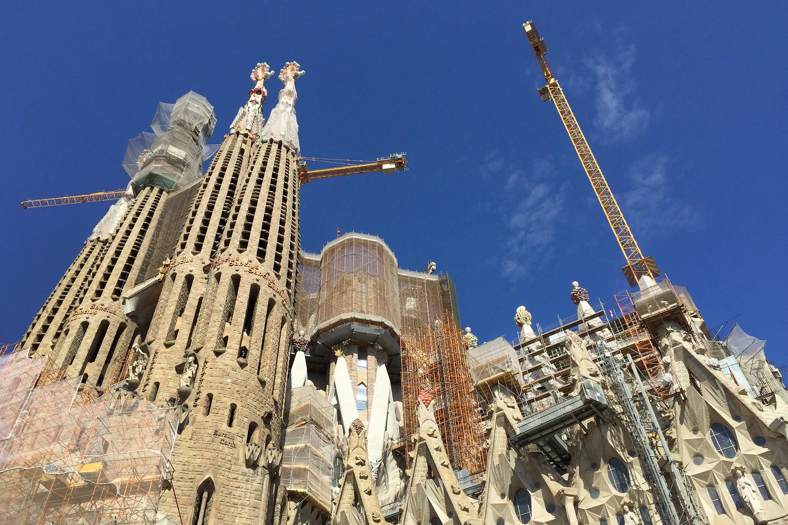 Sagrada Família Church in Barcelona, Spain