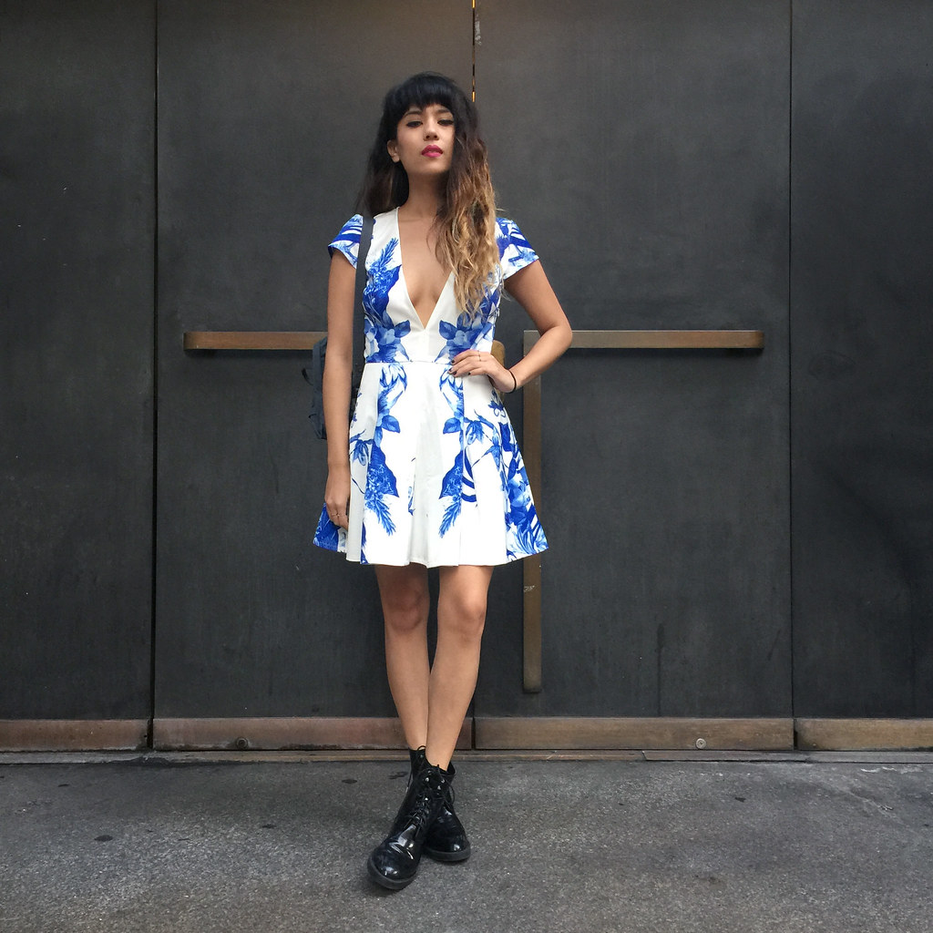 StyleStalker Dress, Zara Boots