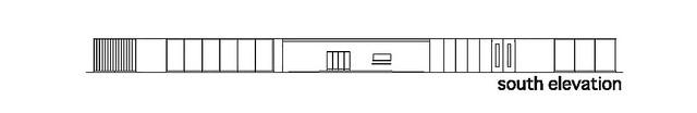 Photo:aat + Makoto Yokomizo - 富弘美術館 Tomihiro Art Museum - Drawings 11 - 南向立面圖 South Elevation By 準建築人手札網站 Forgemind ArchiMedia