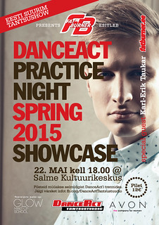 DanceAct Practice Night Spring 2015 Showcase
