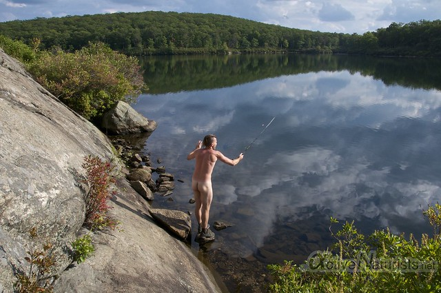 naturist 0027 Harriman State Park, New York, USA