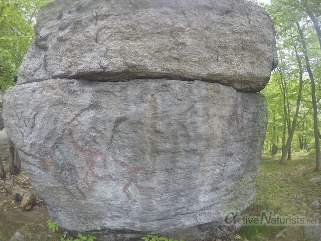 rock art 0000 Harriman State Park, New York, USA