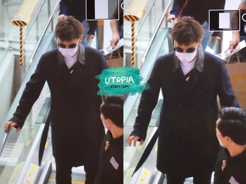 Big Bang - Incheon Airport - 29may2015 - TOP - Utopia - 03