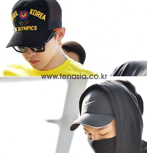 Big Bang - Incheon Airport - 07aug2015 - tenasia - 11