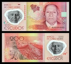 (CVE7za) 2014 Cabo Verde: Banco de Cabo Verde, Duzentos Escudos (A/R)...