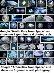Goolge North Pole From Space